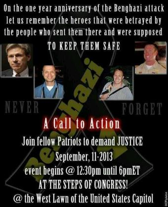 A Call To Action Benghazi