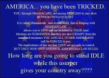 ACA Dhimmitude Trick