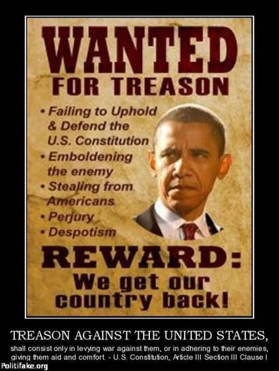 Wanted Treason