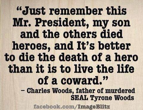 Just Remember Charles Woods Benghazi