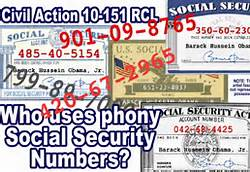 Obama Phony Social Security Numbers