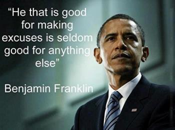 Benjamin excuses quote