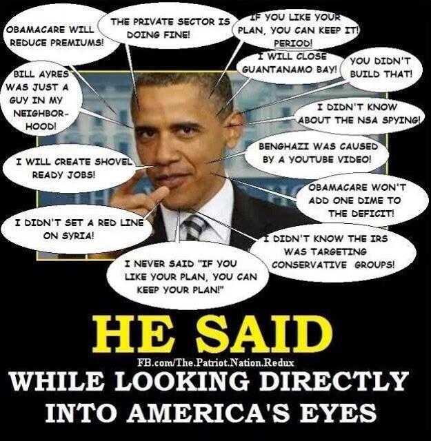 Obama lies (1)