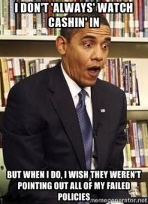 Obama Shocked Cashin In