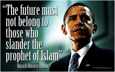 Obama Slander Prophet of Islam