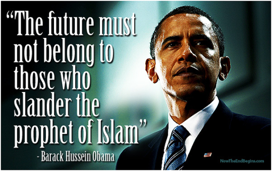 Obama Slander Prophet of Islam
