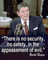 Ronald Reagan Appeasement
