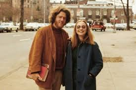 Bill and Hillary Clinton Young