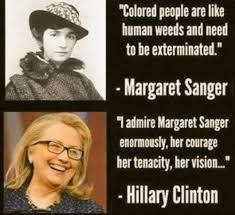 Hillary Admires Margaret Sanger