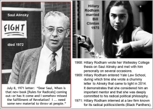 Hillary and Saul Alinsky