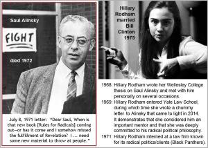 Hillary and Saul Alinsky