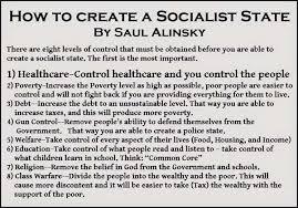 Saul Alinsky Socialist State