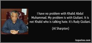 Al Sharpton Khalid Muhammad Exterminate Whites